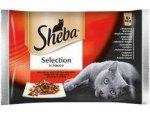 SHEBA kapsa SELECTION 4x85g Drůbeží menu