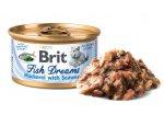 BRIT cat konz. Fish Dreams MACKEREL/seaweed 80g