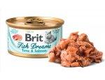 BRIT cat konz. Fish Dreams TUNA/salmon 80g