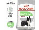 Granule pro psy Royal Canin Medium Digestive Care - granule pro střední psy s citlivým trávením 10kg, doprava zdarma, zboží skladem