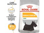 Granule pro psy Royal Canin Mini Dermacomfort - granule pro malé psy s problémy s kůží 1kg, zboží skladem