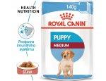 Royal Canin Medium Puppy - kapsička pro střední štěňata  140g