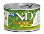 N&D dog PRIME konz. ADULT MINI boar/apple  140g