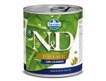 N&D dog PRIME konz. ADULT lamb/blueberry 285g