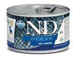 N&D dog OCEAN konz. PUPPY MINI codfish/pumpkin  140g