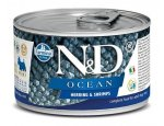 Konzervy pro psy N&D dog OCEAN konz. ADULT MINI herring/shrimps 140g, zboží skladem