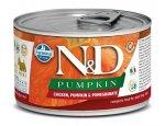 N&D dog GF PUMPKIN konz. ADULT MINI chicken/pomegranate 140g