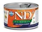 N&D dog GF PUMPKIN konz. ADULT MINI lamb/blueberry 140g