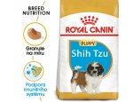 Granule pro psy Royal Canin Shih Tzu Puppy - granule pro štěně Shih Tzu 1,5kg, zboží skladem