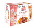 BRIT CARE cat kapsa FILLET in gravy 12 x 85g