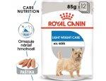 Royal Canin Light Weight Care Dog Loaf - dietní kapsička s paštikou pro psy 12x85g