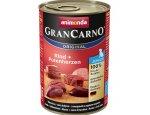ANIMONDA dog konzerva Gran Carno Junior hovězí/krůtí srdce 6x400g