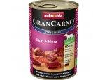 ANIMONDA dog konzerva Gran Carno hovězí/srdce 6x400g