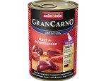ANIMONDA dog konzerva Gran Carno Senior hovězí/krůtí srdce 6x400g