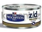 Konzervy pro psy Hills Canine z/d Ultra Alergen Free (dieta) konzerva 370g