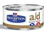 Konzervy pro psy Hills Canine a/d (dieta) konzerva pes/kočka 156g