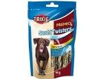 Trixie dog pochoutka SUSHI TWISTER 100% rybí copánky 60g