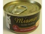 MIAMOR konzerva Feine Filets 100g Kuře a šunka