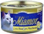 MIAMOR konzerva Feine Filets 100g Tuňák a křepelčí vejce
