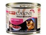 ANIMONDA cat konzerva CARNY hovězí/krůta/krevety 200g, zboží skladem
