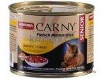 ANIMONDA cat konzerva CARNY SENIOR hovězí/kuře/sýr  200g, zboží skladem