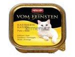 ANIMONDA cat paštika KASTROVANÁ kočka 100g Krůta/sýr