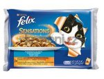 FELIX kapsa SENSATIONS Jellies 4x100g LOSOS/treska, zboží skladem