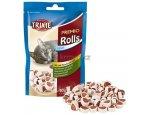 Cat pochoutka FISH CHICKEN ROLLS (trixie) 50g