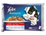 FELIX kapsa FANTASTIC v želé 4x100g HOVĚZÍ/kuře