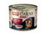 ANIMONDA cat konzerva CARNY hovězí/srdce  200g